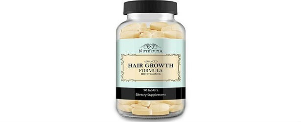 Nutrevita Advanced Hair Growth Formula Review
