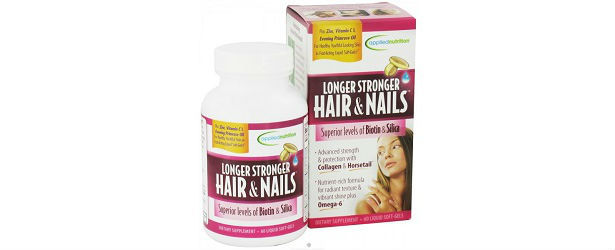 Applied Nutrition Longer Stronger Hair & Nails Review 615