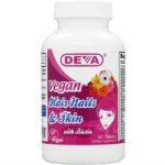 Deva Nutrition Vegan Hair-Nails-Skin Support Review 615