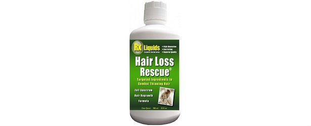 RX Liquids Hair Loss Rescue Vitamins for Hair Loss Review 615