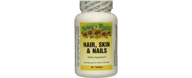 Nature's Wealth Hair, Skin & Nails Review