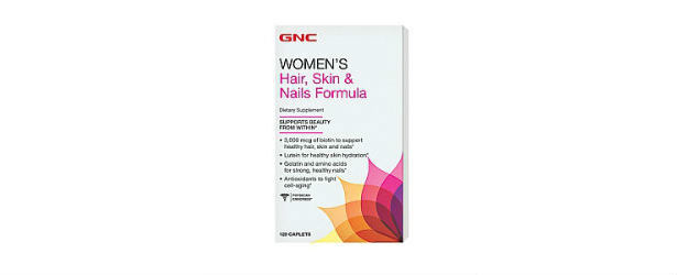 GNC Women's Hair, Skin and Nails Formula Review